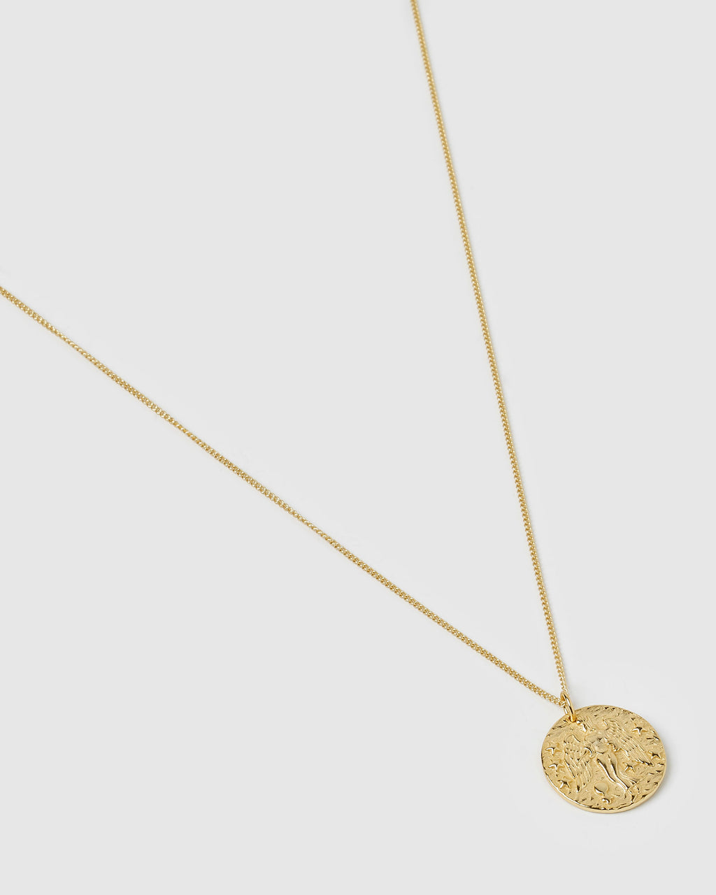 Izoa Star Sign Necklace Virgo Gold