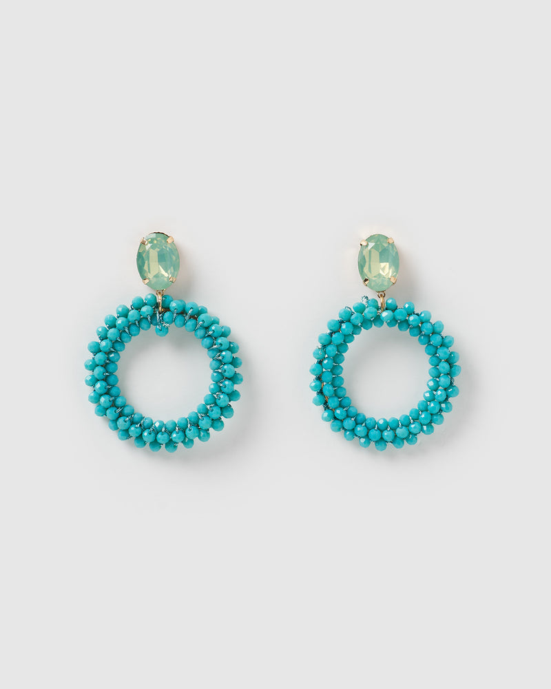 Izoa Virtuoso Earrings Blue