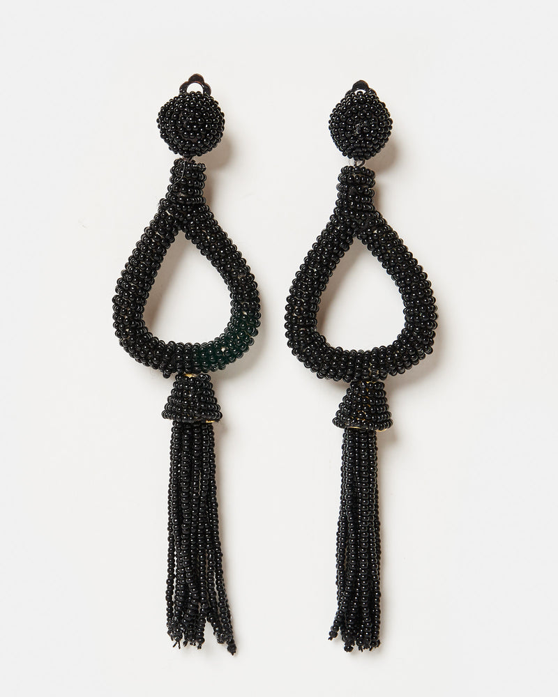 Izoa Rumba Earrings Black