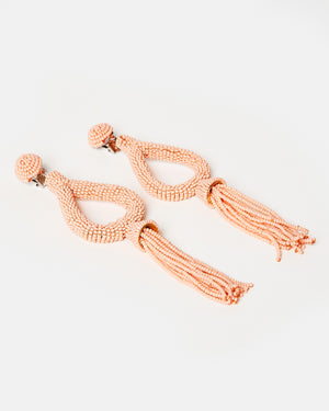 Izoa Rumba Earrings Coral