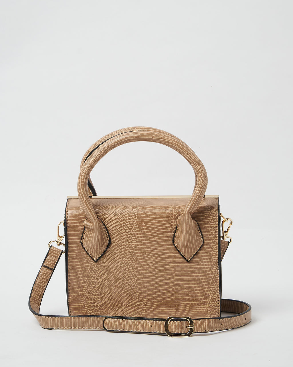 Izoa Willow Handbag Nude