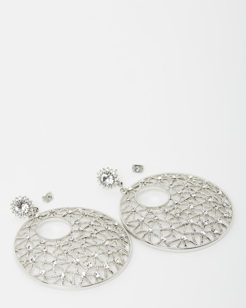 Izoa Yoko Earrings Silver