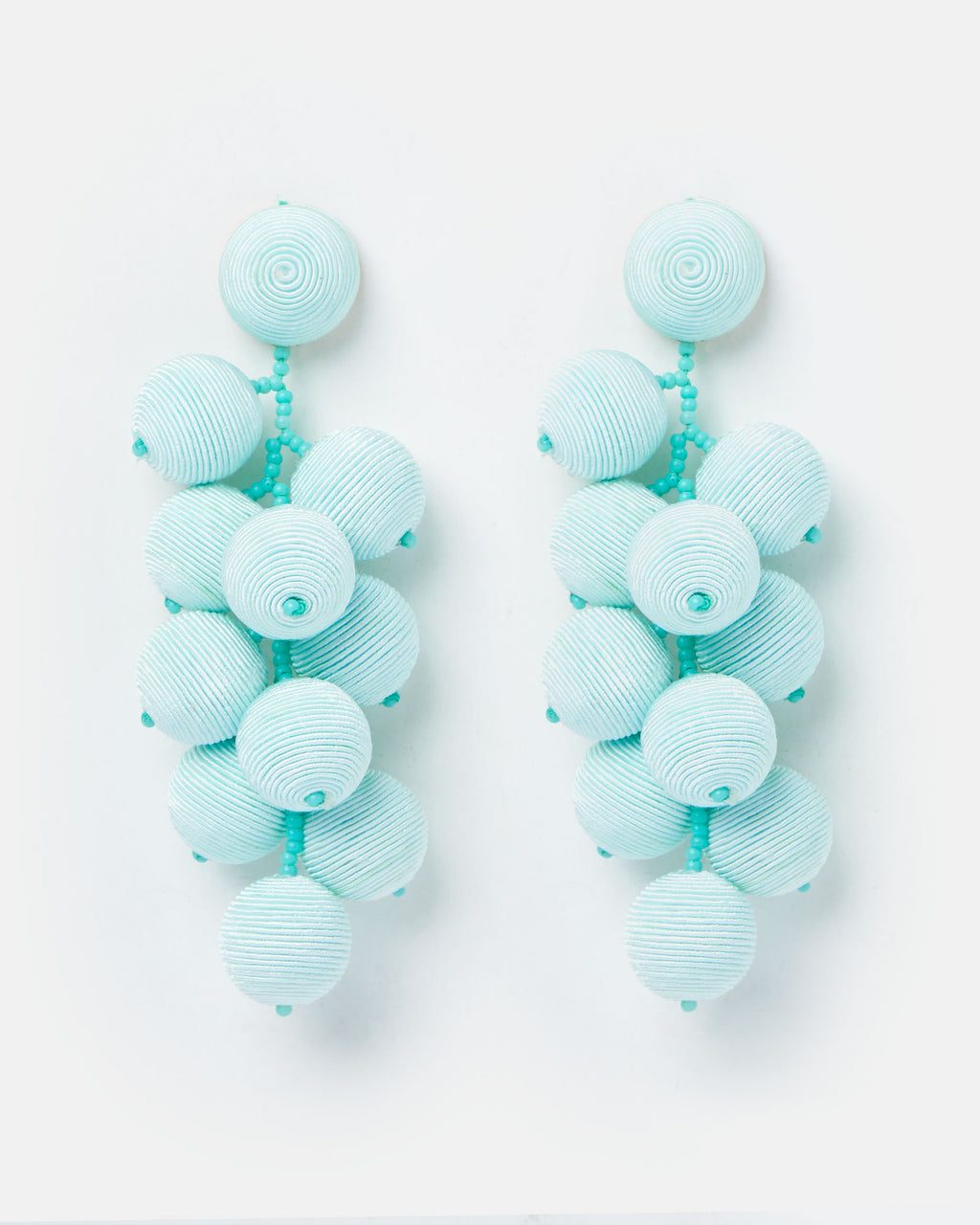 Izoa Zsa Zsa Earrings Blue