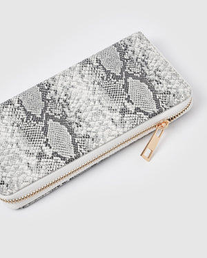 Izoa Zaria Wallet Black White