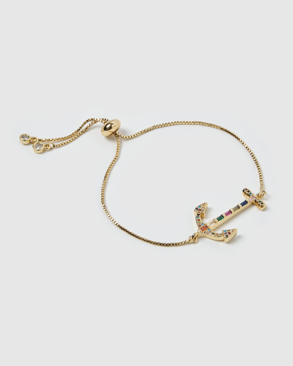 Izoa Anchor Bracelet Gold