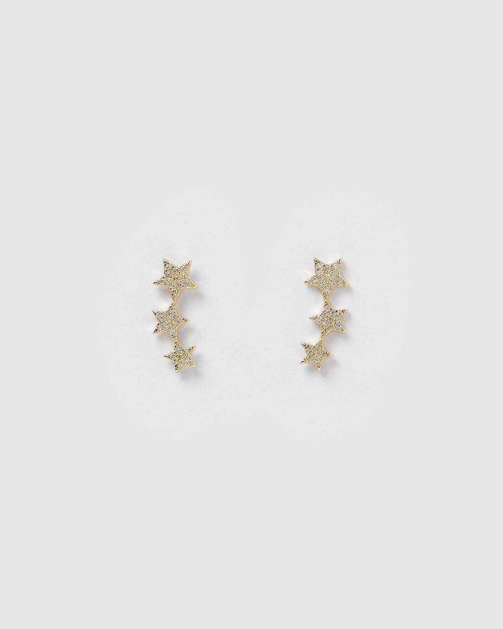 Izoa Astral Crawler Earrings Gold