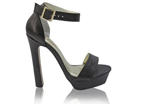 Izoa Candice Heels Black (SIZE 39 ONLY)