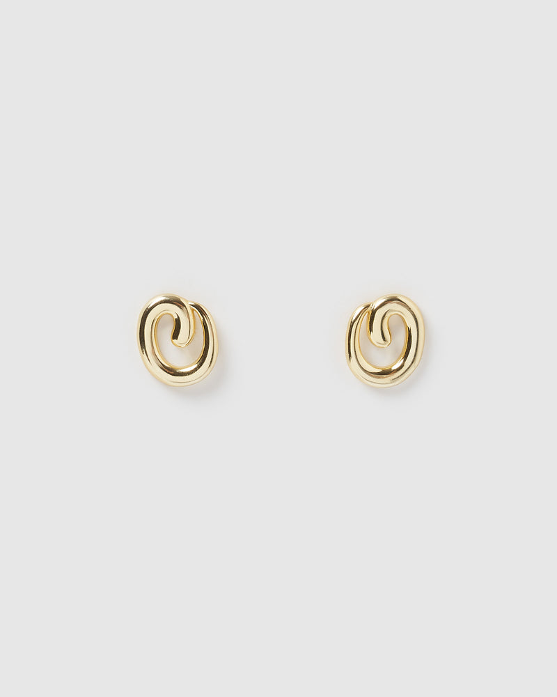 Izoa Cure Earrings Gold