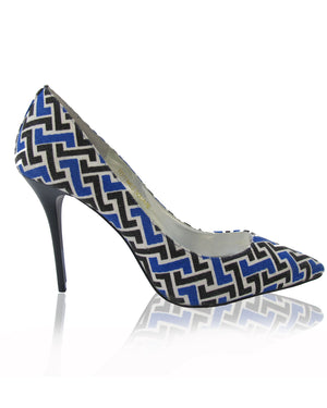 Izoa Girl Times Square Heels Blue (SIZES 36 & 41 ONLY)