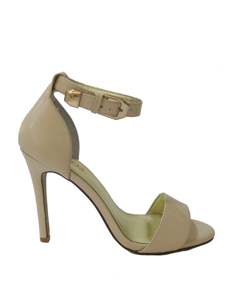 Izoa Croatia Heels Nude (SIZES 38 & 40 ONLY)