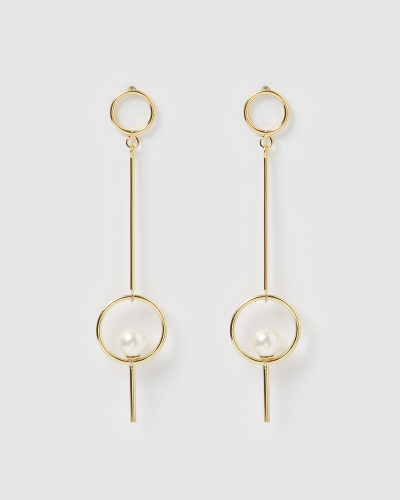 Izoa Imagine Earrings Gold