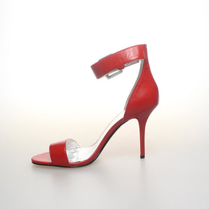 Izoa Girl Greenwich Village Heels Red