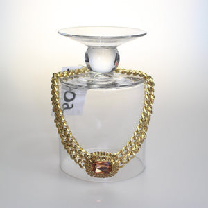 Izoa Titanic necklace in gold