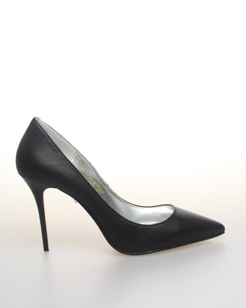 Izoa Rockefeller Pointy Pump Heels Black (SIZE 41 ONLY)
