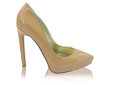 Izoa Kate Heels Fawn (SIZE 39 ONLY)