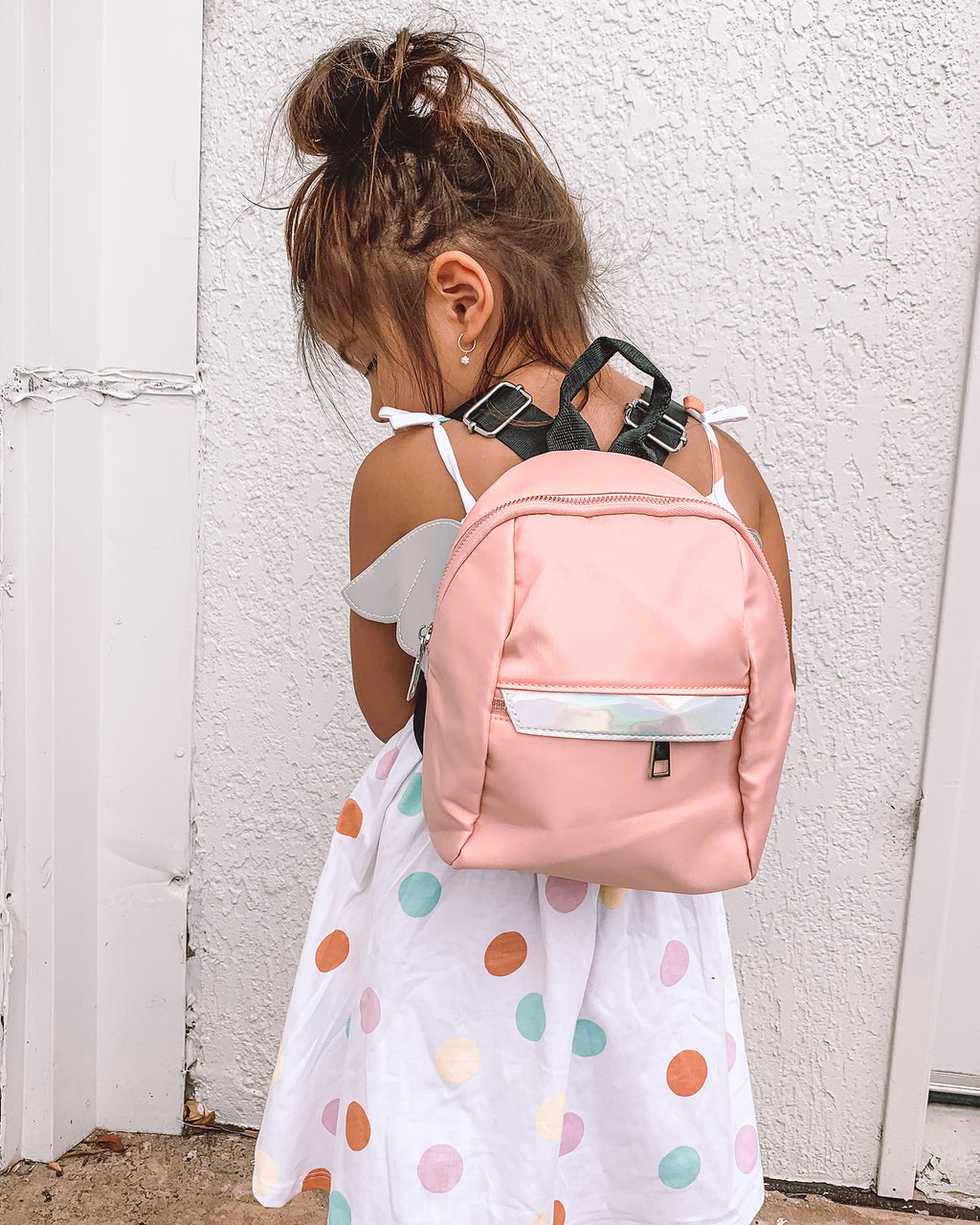 Izoa Kids Fly-Away Backpack Pink