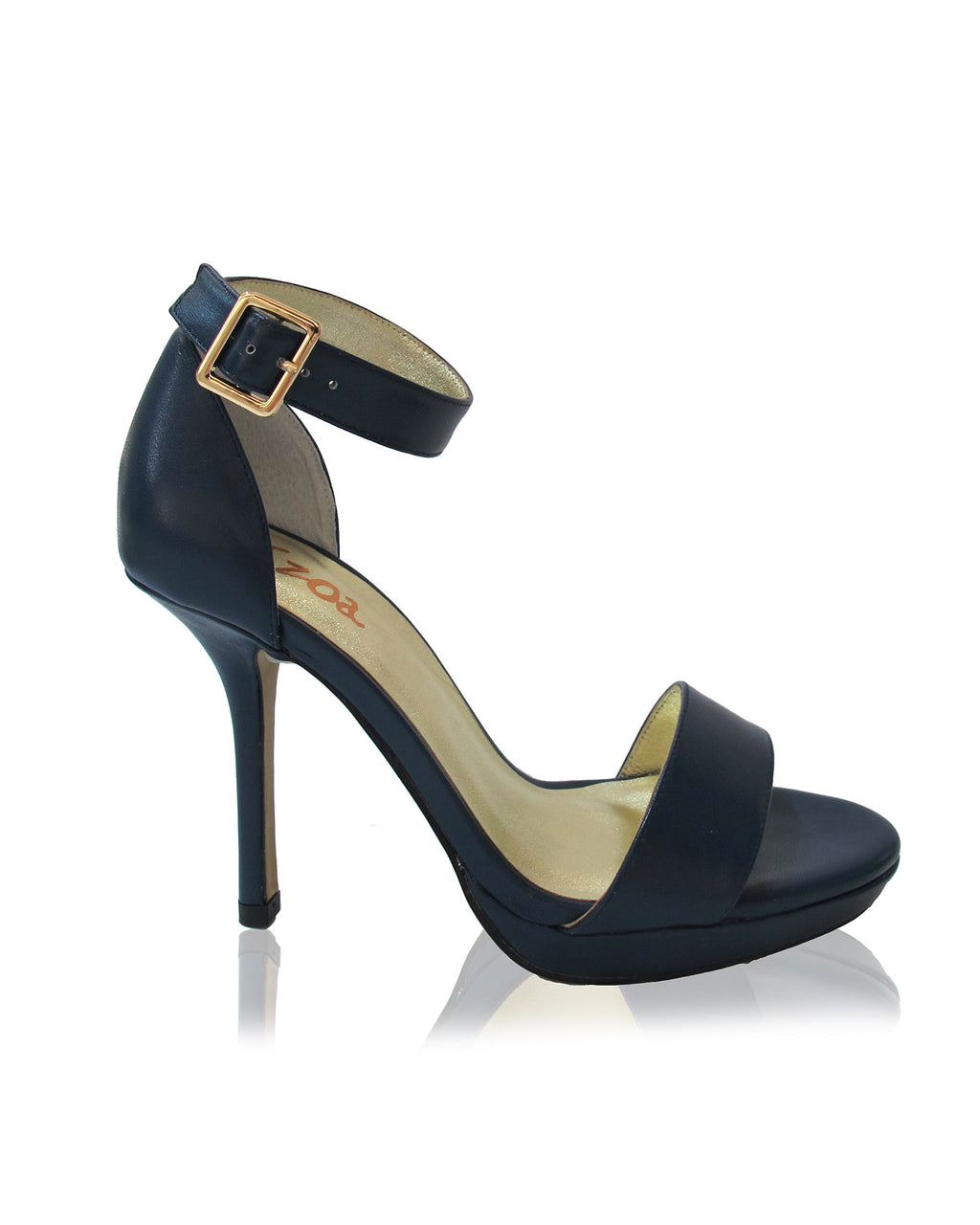 Izoa Lucille Heels Navy (SIZES 40 & 41 ONLY)
