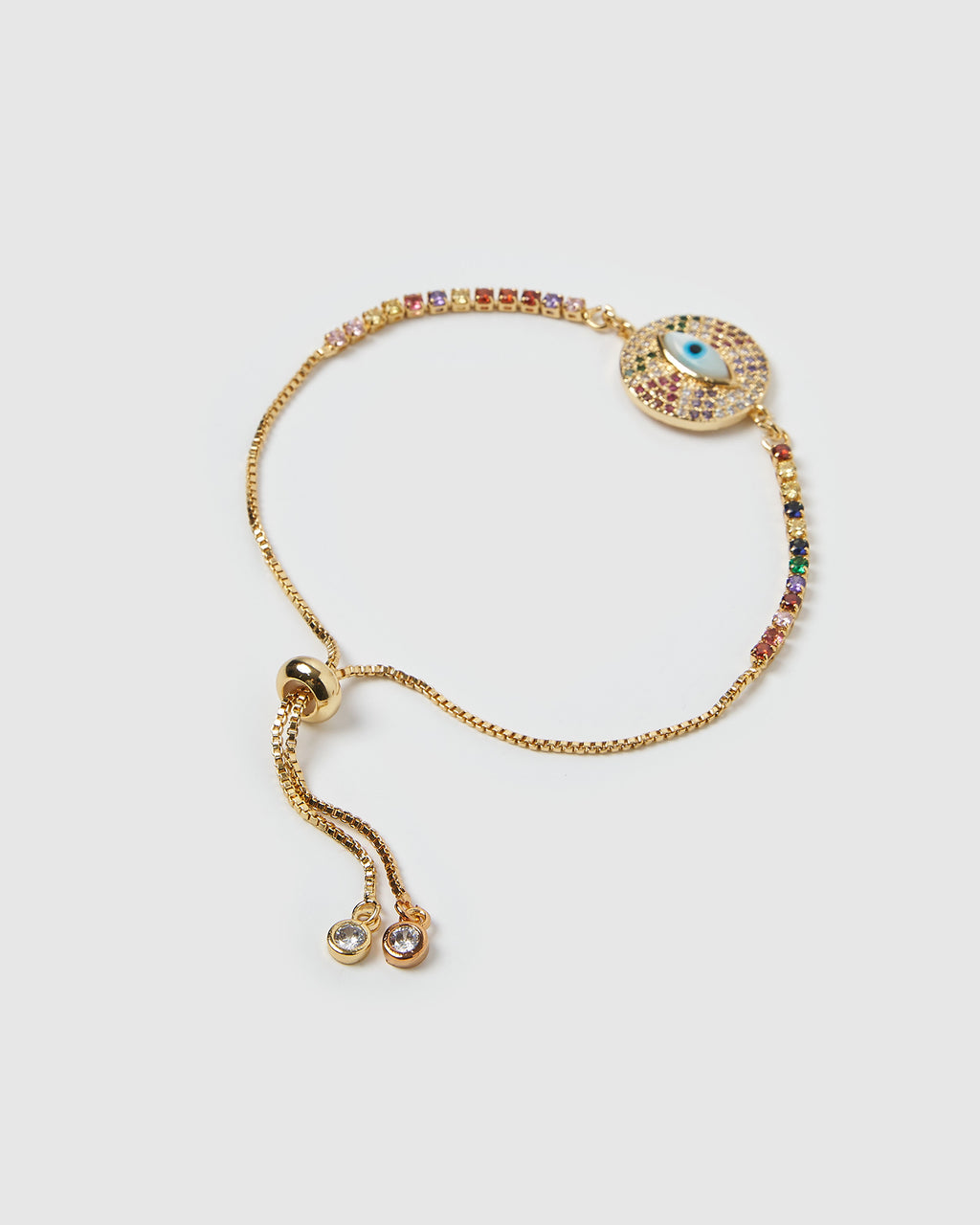 Izoa Macey Bracelet Gold Multi