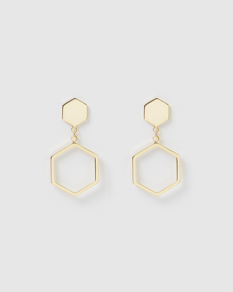 Izoa Sixth Sense Earrings Gold