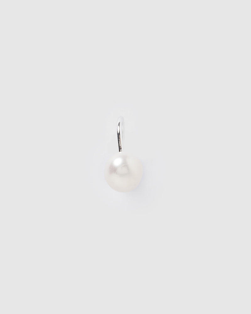 Izoa Stacey Cuff Earring Silver Pearl