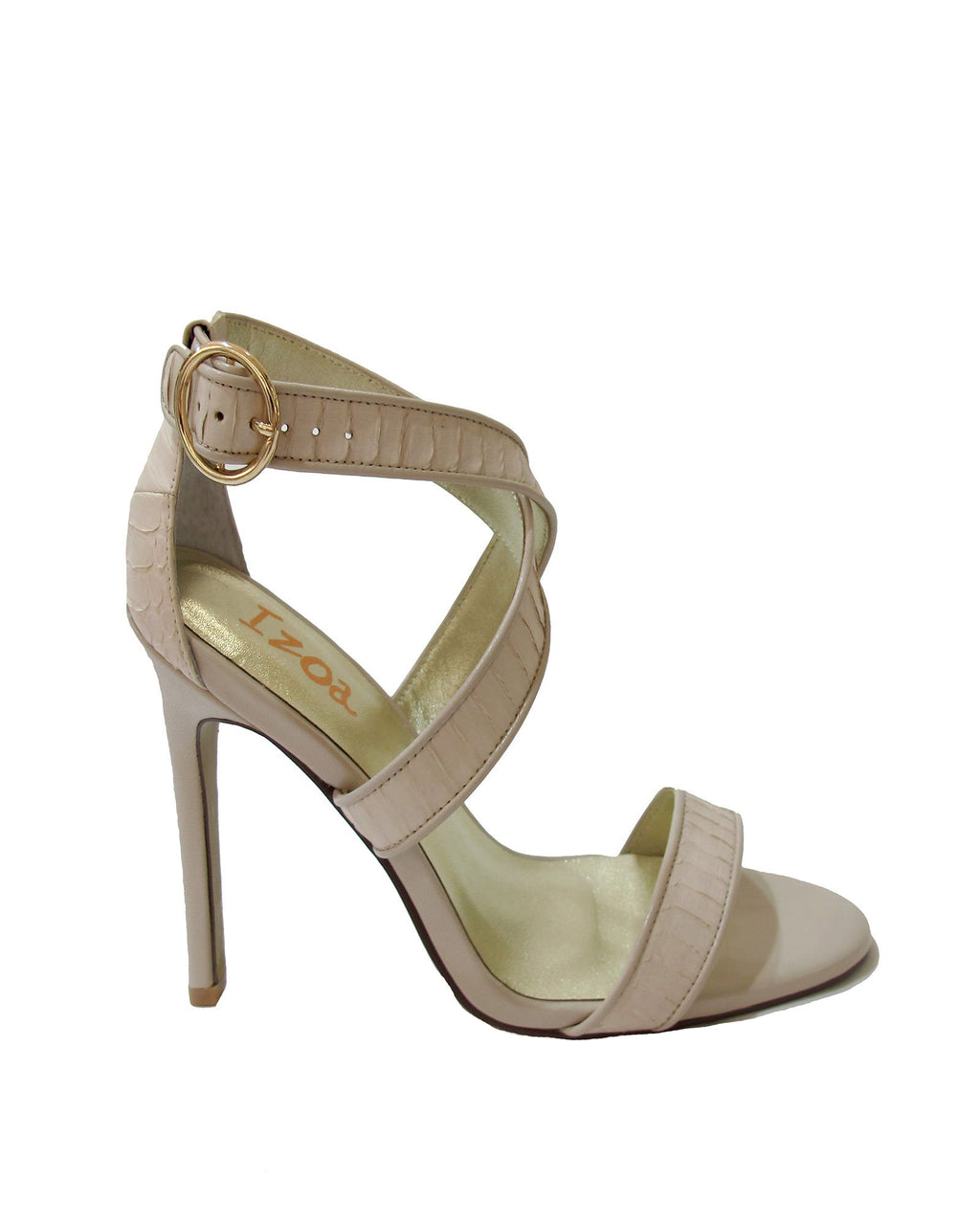 Izoa Spain Heels Nude (SIZE 40 ONLY)