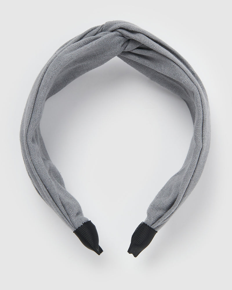 Izoa Taylor Headband Grey