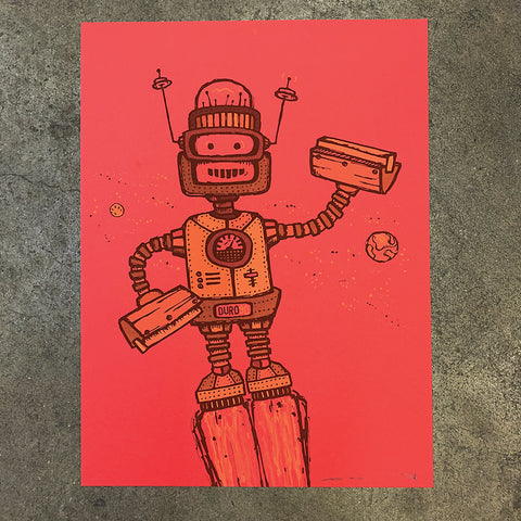 Robot - Red