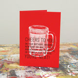 Card - Cheers to You, You're Neat