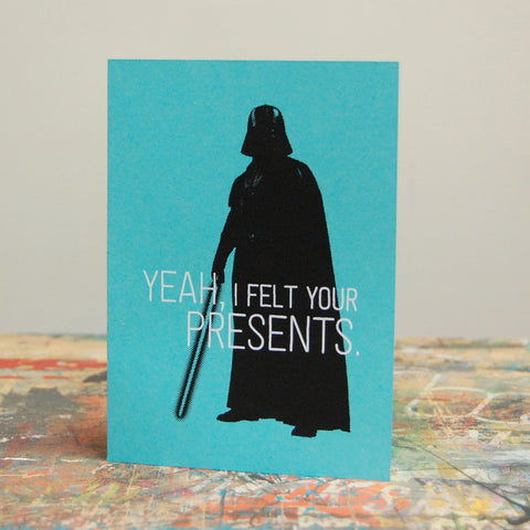 Card - Felt Your Presents