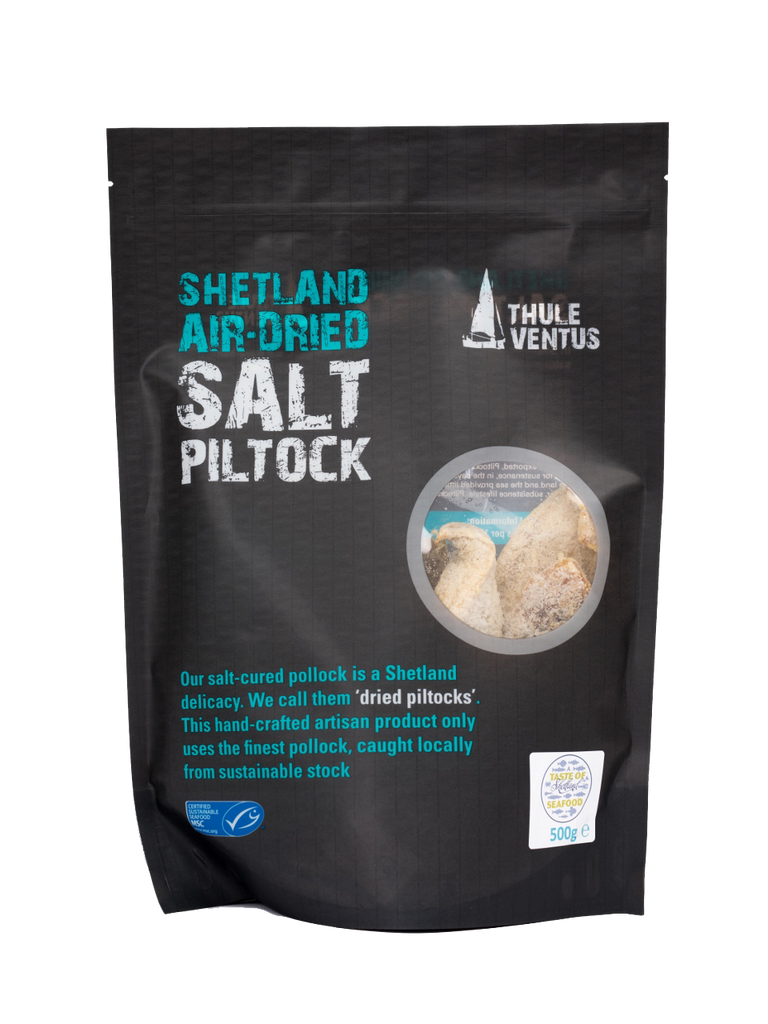 500g Salt Dried (Piltocks) Coley