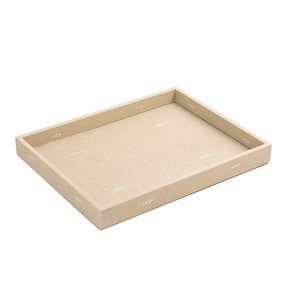 Chelsea Medium Tray Shagreen Natural