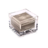 Costbox Clear Silver Leaf Chic Matte Champagne - Posh Trading Company  - Interior furnishings london