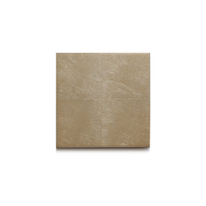 Silver Leaf Chic Matte Coaster Champagne - Posh Trading Company  - Interior furnishings london