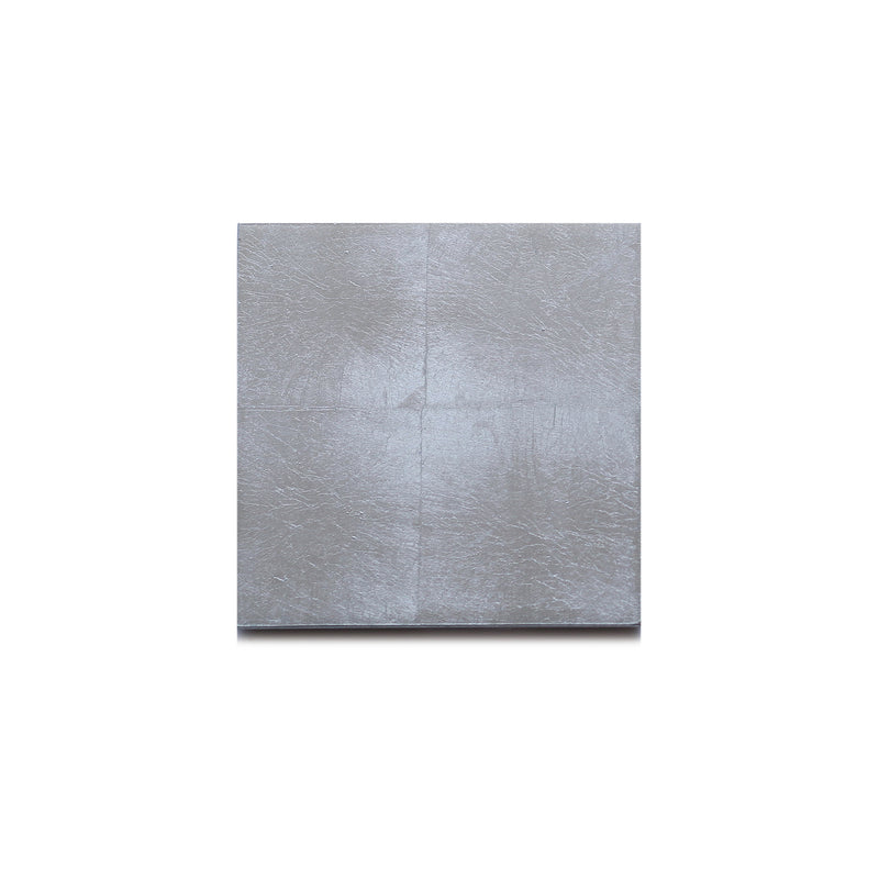 Silver Leaf Matte Chic Coaster Silver - Posh Trading Company  - Interior furnishings london