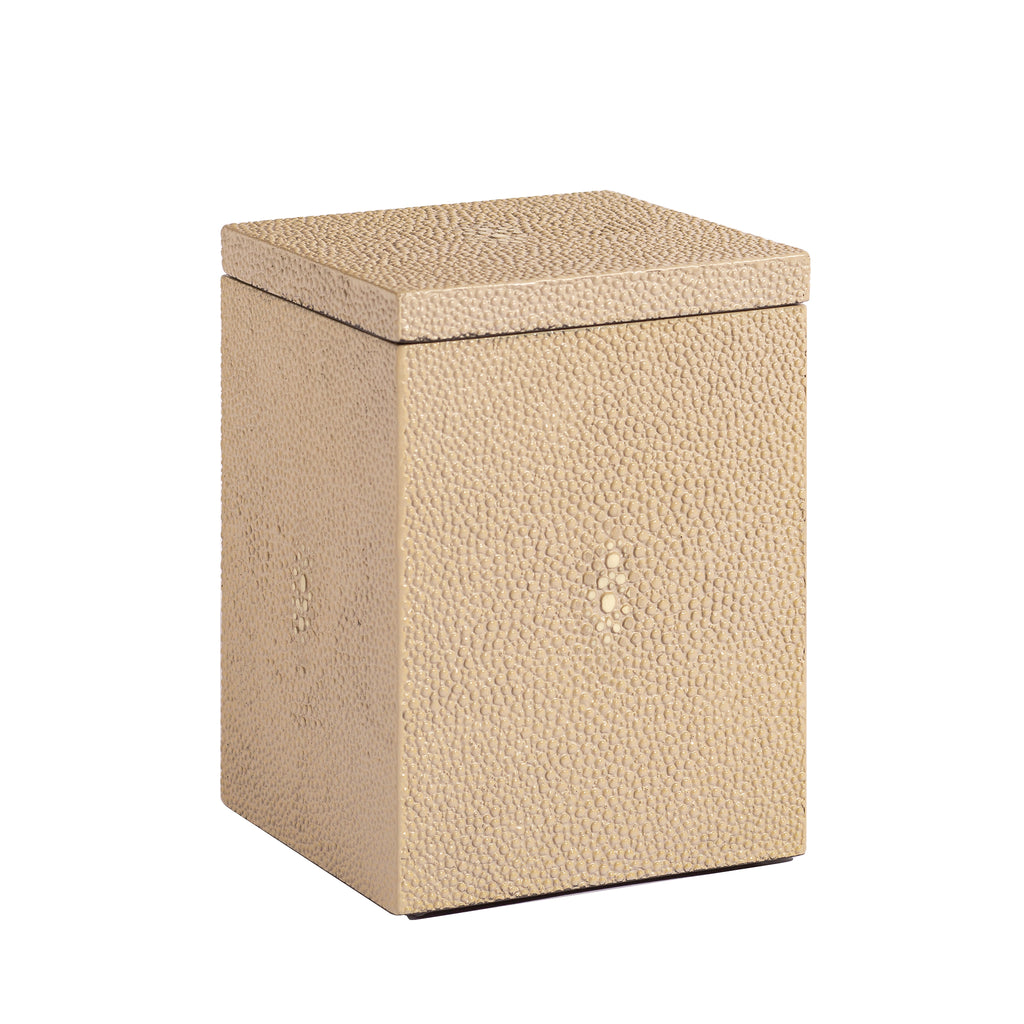 Chelsea Cotton Wool Box Shagreen Natural