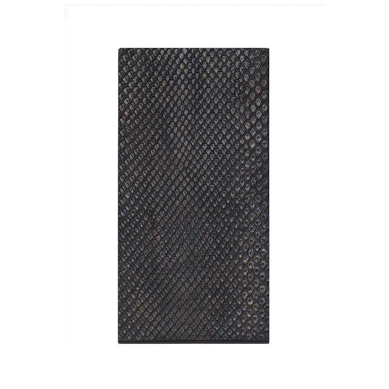 Double Coaster Faux Boa Charcoal - Posh Trading Company  - Interior furnishings london