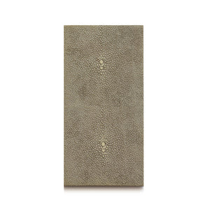 Double Coaster Shagreen Natural