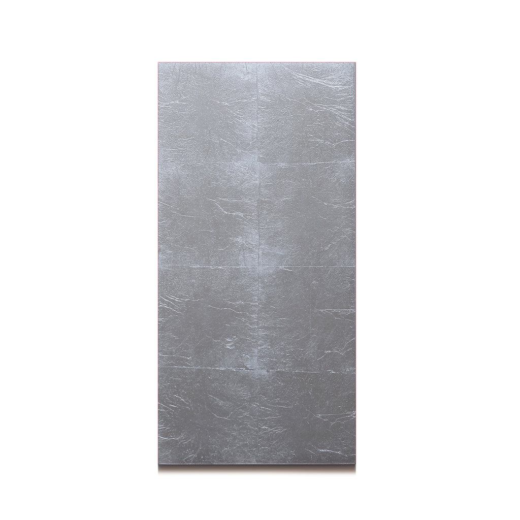 Silver Leaf Matte Chic Double Coaster Silver - Posh Trading Company  - Interior furnishings london