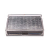 Grand Matbox Clear Silver Leaf Silver - Posh Trading Company  - Interior furnishings london