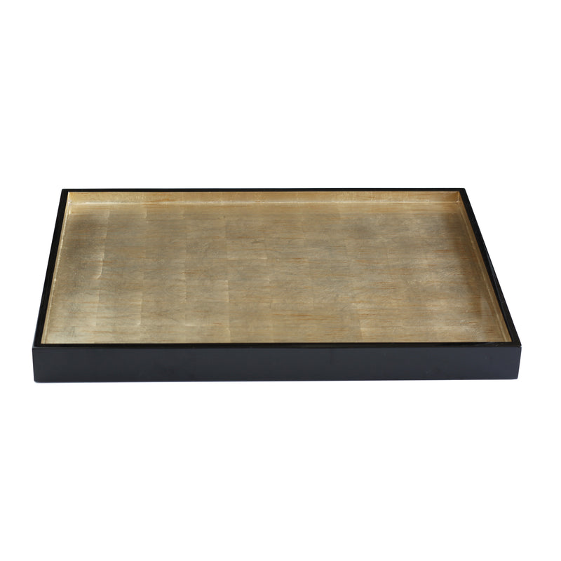 The Windsor Tray in Silver Leaf Large - Posh Trading Company Trays - Interior furnishings london