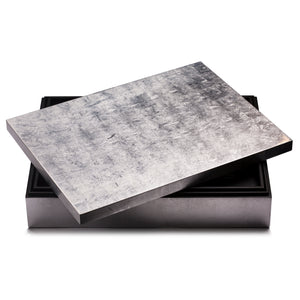 Grand Matbox Silver Leaf Silver - Posh Trading Company  - Interior furnishings london