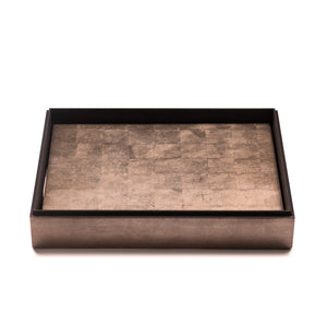 Grand Matbox Silver Leaf Taupe - Posh Trading Company  - Interior furnishings london
