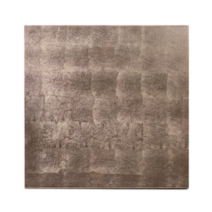 Silver Leaf Placemat Taupe - Posh Trading Company  - Interior furnishings london