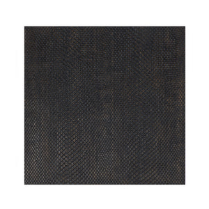 Placemat Faux Boa Charcoal - Posh Trading Company  - Interior furnishings london