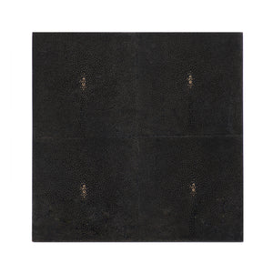Placemat Faux Shagreen Chocolate - Posh Trading Company  - Interior furnishings london