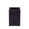 Chelsea Pen Holder Croc Noir