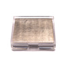 Placebox Clear Silver Leaf Chic Matte Champagne - Posh Trading Company  - Interior furnishings london