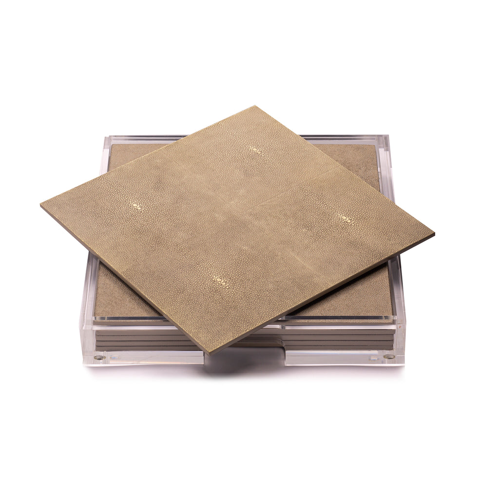 Placebox Clear Shagreen Natural