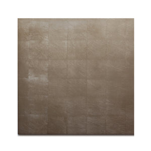 Silver Leaf Chic Matte Placemat Taupe