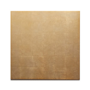 Silver Leaf Chic Matte Placemat Gold